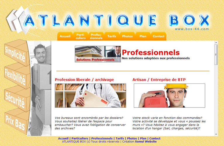 Website – Atlantique Box