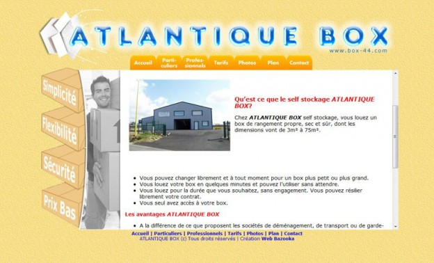 Website - Atlantique Box