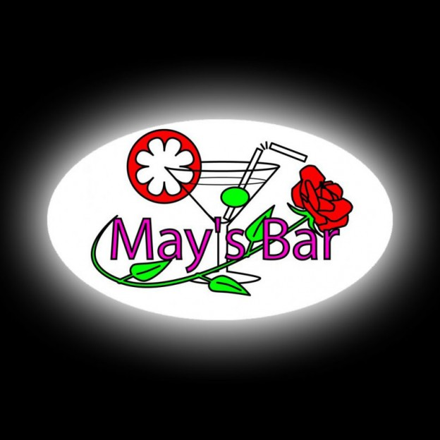 Neon Box - May's Bar