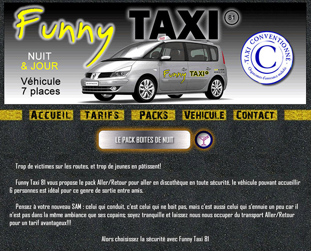 Website – Funny Taxi 81