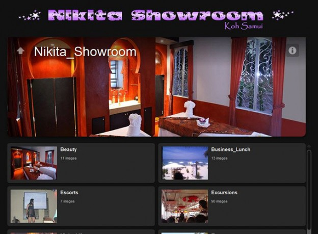 Website - Nikita Showroom V.1