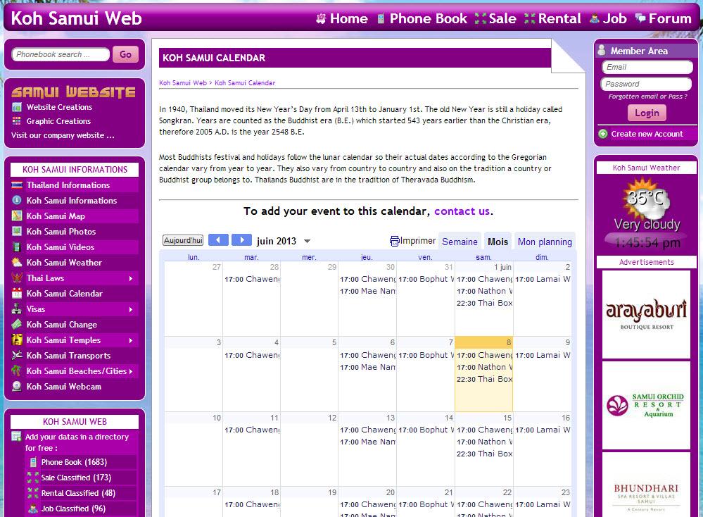 Website – Koh Samui Web V.2