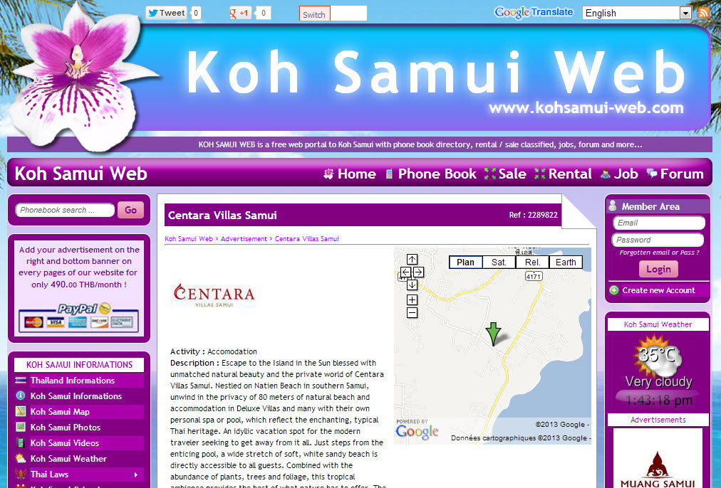 Website – Koh Samui Web V.2