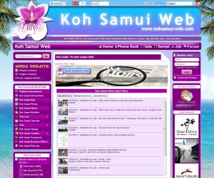 Website - Koh Samui Web V.2
