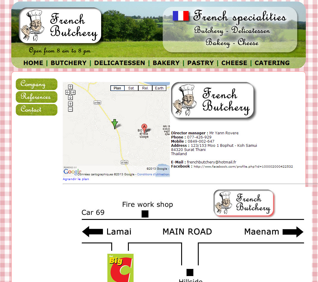 Website – The French Butchery