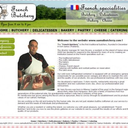 Website - French Butchery
