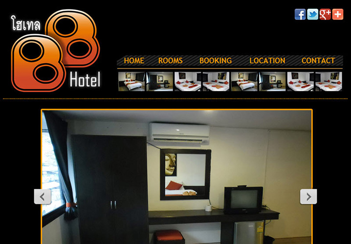 Website – BB Hotel