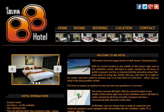 Website - BB Hotel