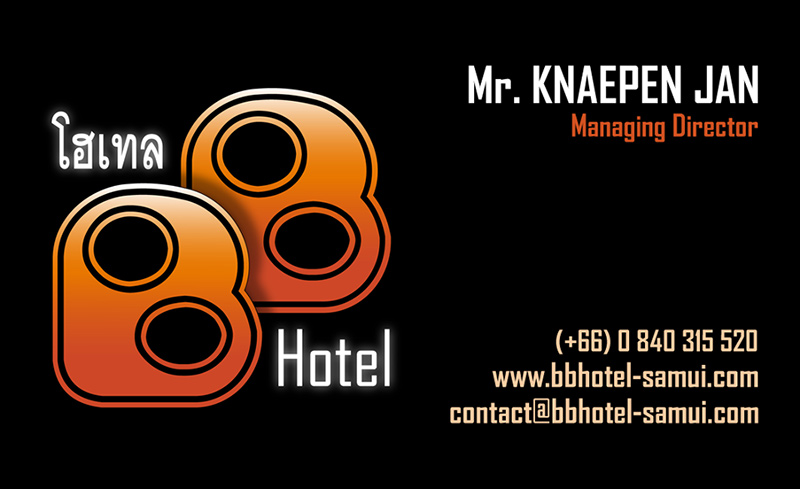 Business card – BB Hotel