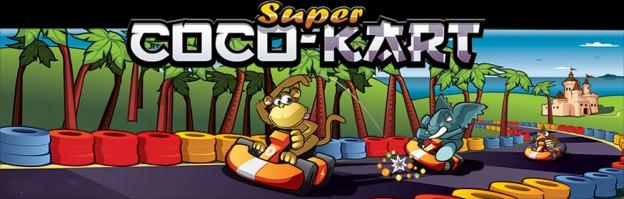 Panel - Super Coco Kart
