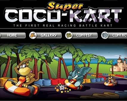 Website - Super Coco Kart