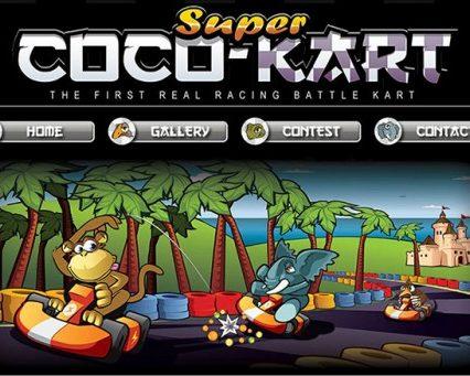 Website - Super Coco Kart