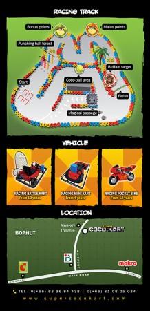 Flyer – Super Coco Kart