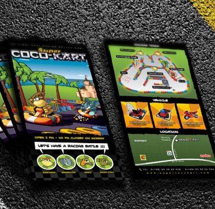 Flyer - Super Coco Kart