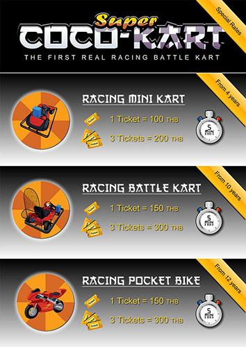 Rates Super Coco Kart