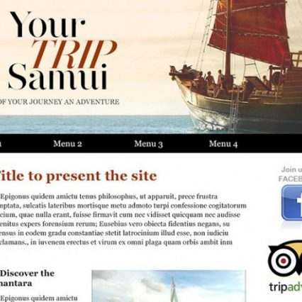 Website - Your Trip Samui