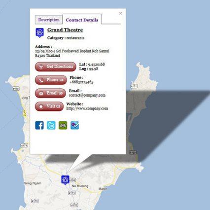 Gmap V3 interactive Map