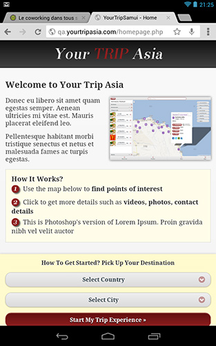 Website – Your Trip Asia