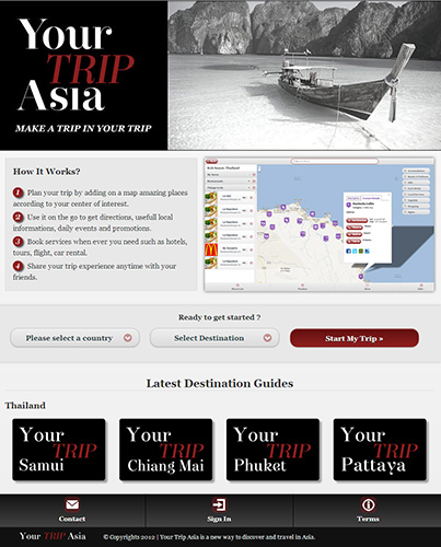 Website - Your Trip Asia