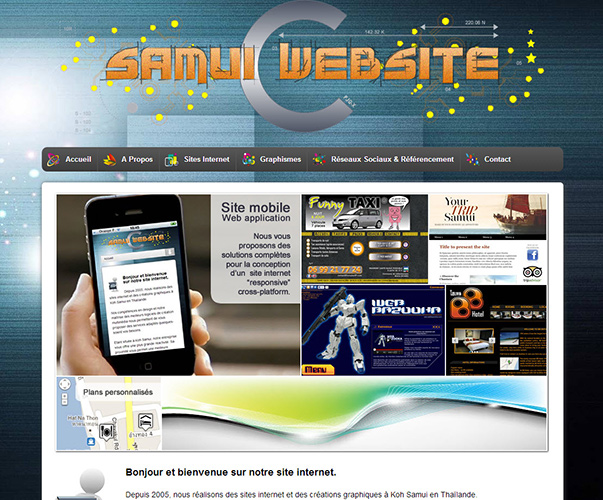 Website – Samui Website V.2