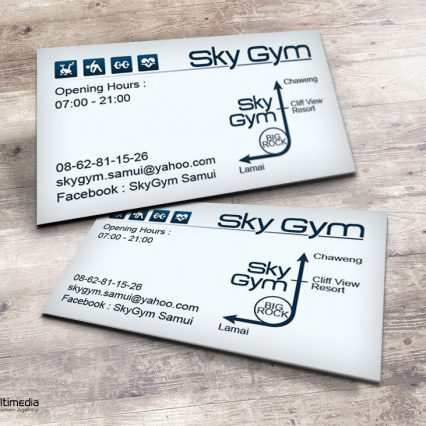 Business Card - Sky Gym