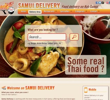 Website - Samui Delivery