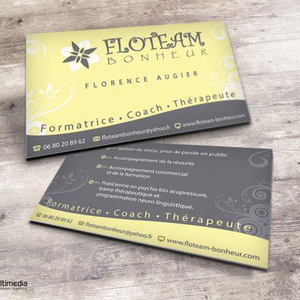 Business card - Floteam Bonheur