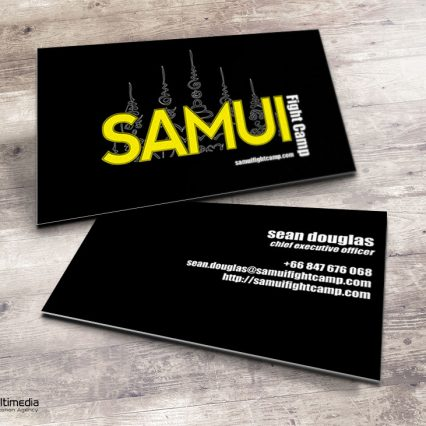 Business card - Samui Fight Camp