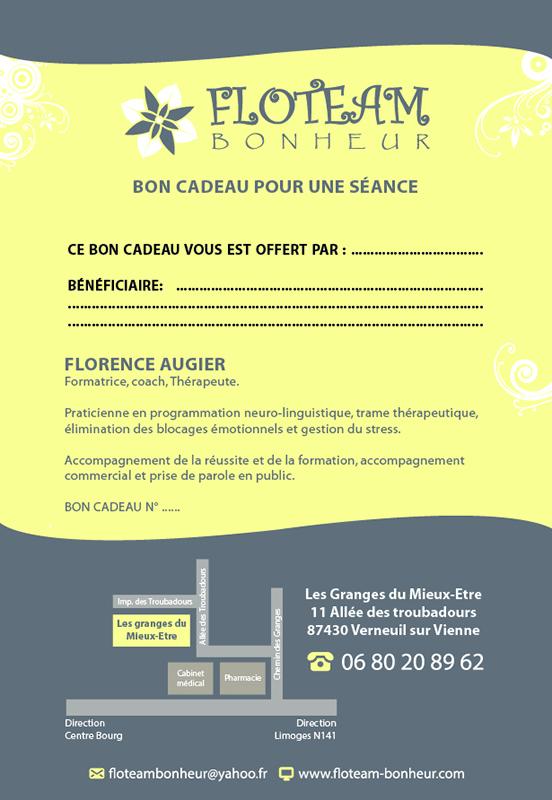 Present ticket – Floteam Bonheur