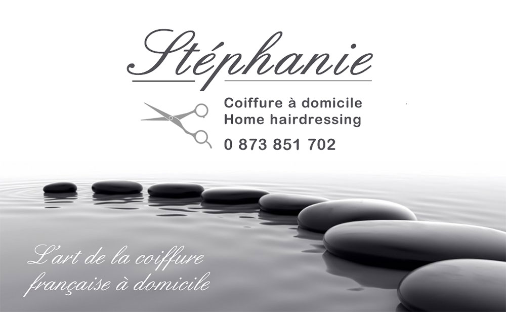 Business card & Flyer – Stéphanie Coiffure