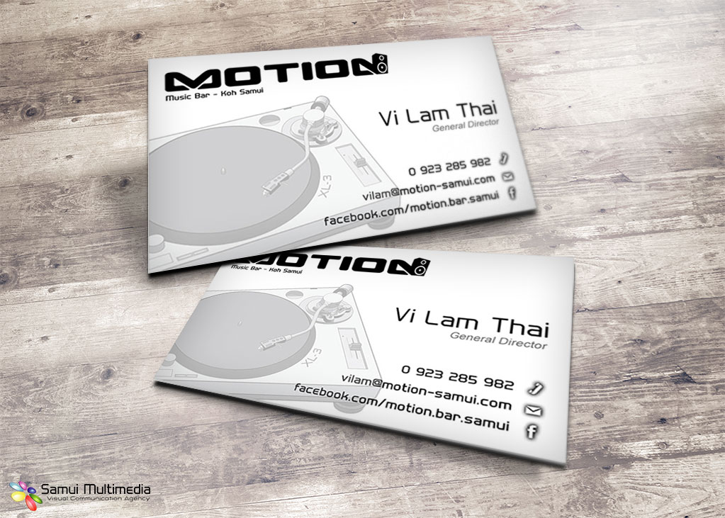Business Card - Motion