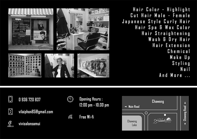 Flyer – Vivi's Hair Salon