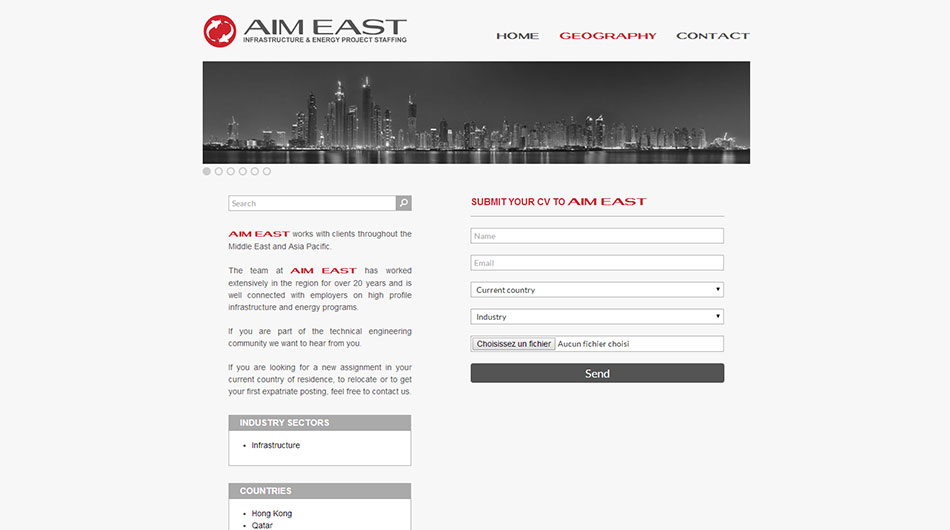 Website – AIM East