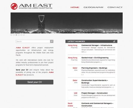 Website - AIM East