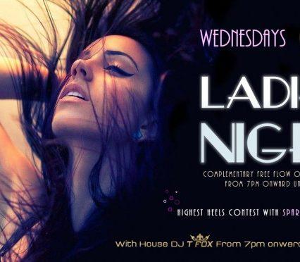 Flyer Café Zazen - Ladies night V.2.01