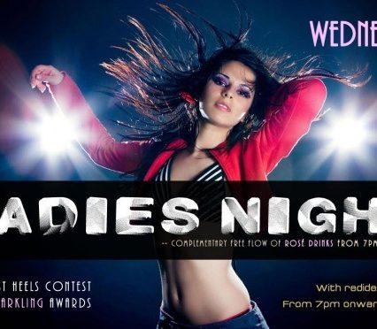Flyer Café Zazen - Ladies night V.203