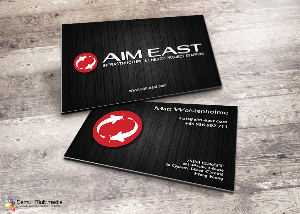 Business card - AIM East