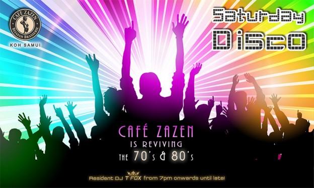 Flyer Café Zazen - Disco V.2.09