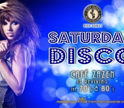 Flyer Café Zazen - Disco V.2.10