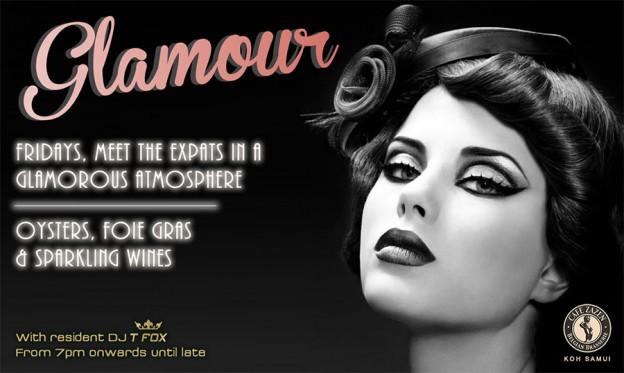 Flyer Café Zazen - Glamour V.2.09
