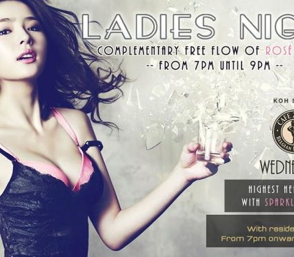 Flyer Café Zazen - Ladies Night V.2.07