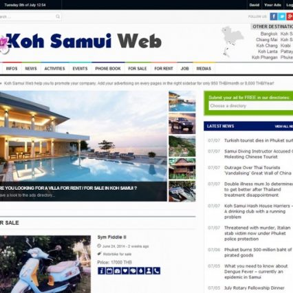 Website - Koh Samui Web V.3
