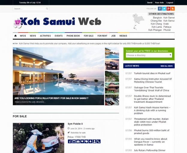 Website - Koh Samui Web V.3