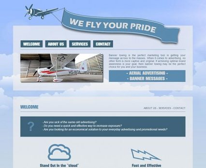 Website - We Fly Your Pride
