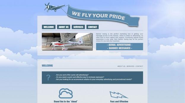 Website - We Fly Your Pride