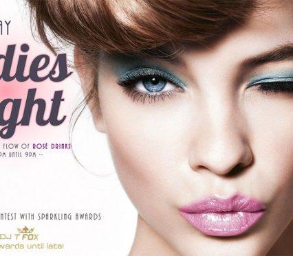 Flyer Café Zazen - Ladies Night V.2.11