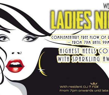Flyer Café Zazen - Ladies Night V.2.13