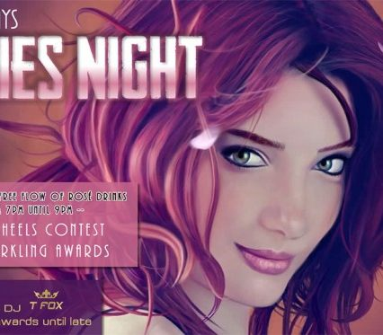 Flyers Café Zazen - Ladies Night