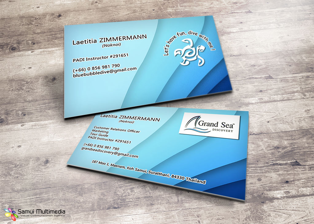 Business card - Grand Sea