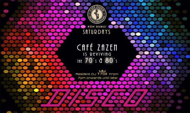 Flyer Café Zazen - Disco V.2.14